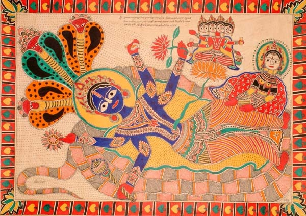 Lord Vishnu on Ananta