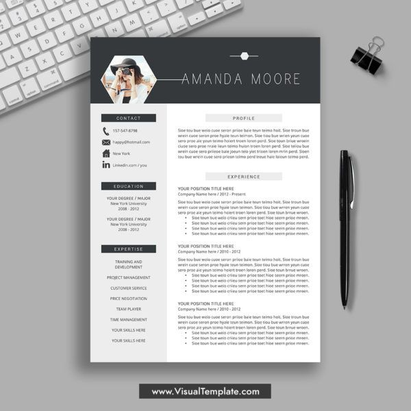 2020 2021 Pre Formatted Resume Template With Resume Icons Fonts And Editing Guide Unlimited Digital Instant Download Resume Template Fully Compatible With Ms In 2020 Resume Template Professional Resume Template Downloadable Resume Template