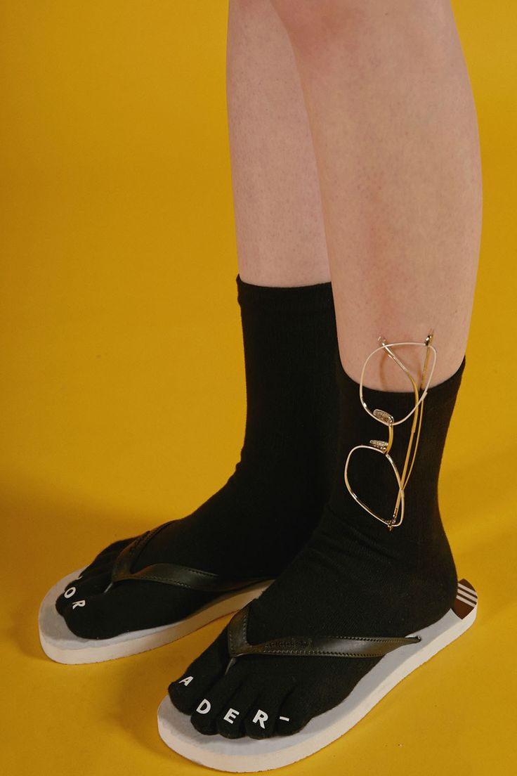 SS16 'ADER ERROR' toe socks #ader#image#amage#socks$pink#photo#photography