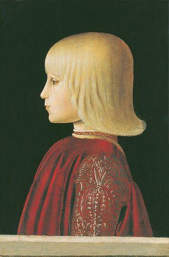 Piero della Francesca: Guidobaldo da Montefeltro (1483) #TuscanyAgriturismoGiratola