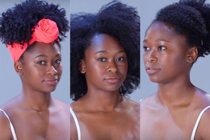 Penteados para cabelos crespos em menos de 2 minutos