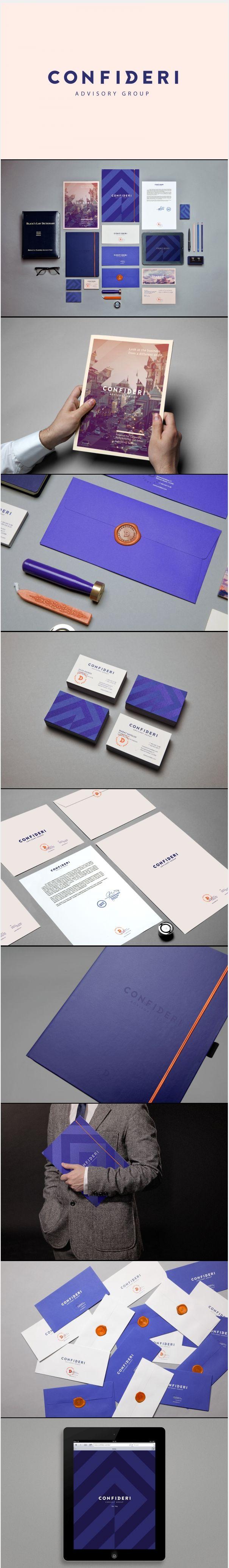 CONFIDERI #branding #logo