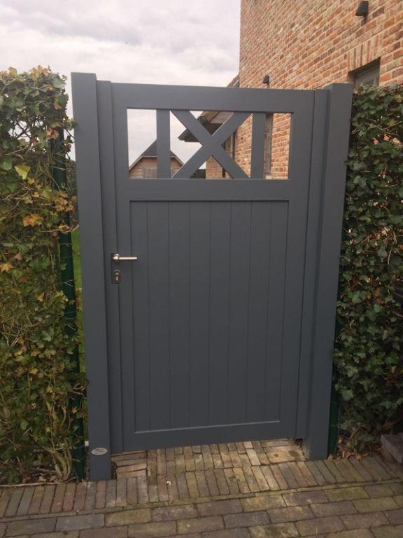 25 beste idee n over oprit poort op pinterest houten omheining poorten boerderijhek en - Modern prieel aluminium ...
