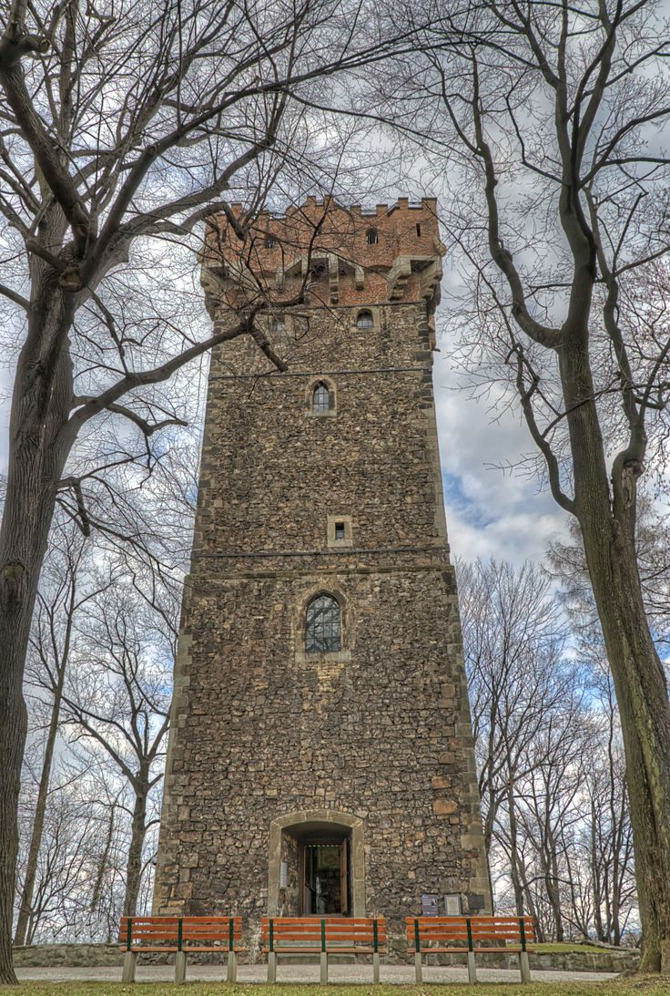 The remaining of the four Piast Towers in Cieszyn, erected in the 14th century, is a seven storey, 29 meter building - the four of which surrounded the Upper Castle.  Nowadays it is a fantastic observation point with a view over both sides of the Olza river as well as Beskydy mountains.