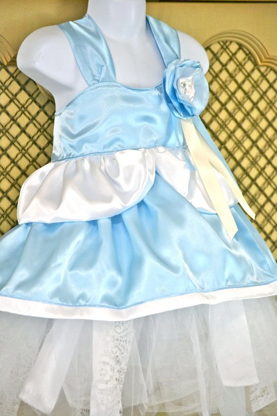 CinderellaApron CostumeHalloween Girls sizes by SweetPeaBlossoms, $25.00