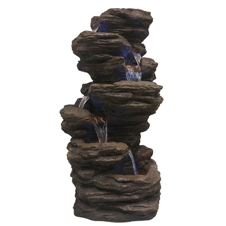 Top 25 Ideas About Waterfall Fountain On Pinterest Diy
