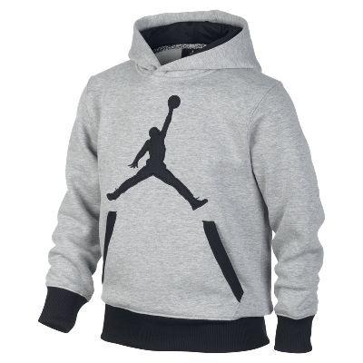 Jordan Mesh Drop Pullover Boys' Hoodie - $55
