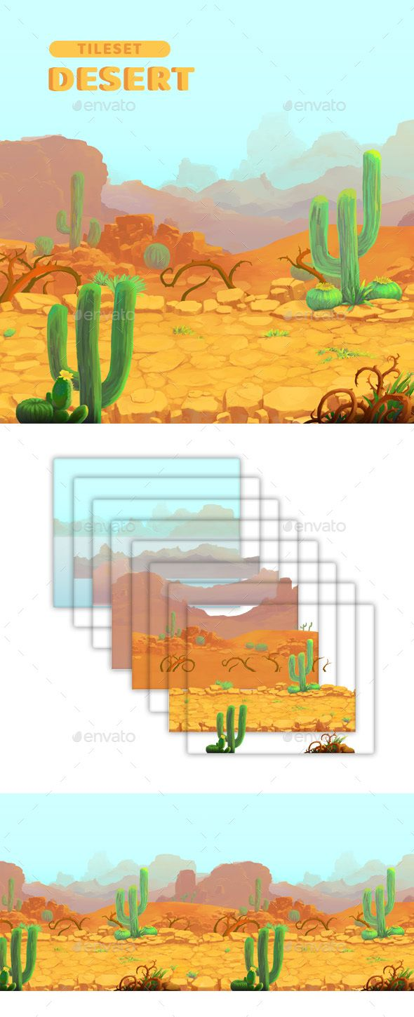 Desert - Game Background