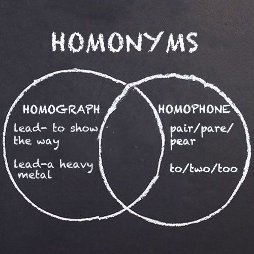 """These words are often tossed around by teachers and linguists. What do they really mean? The prefix homo- comes from the Greek word homós which meant """"one and the same."""" So all of these words describe some types of sameness."""