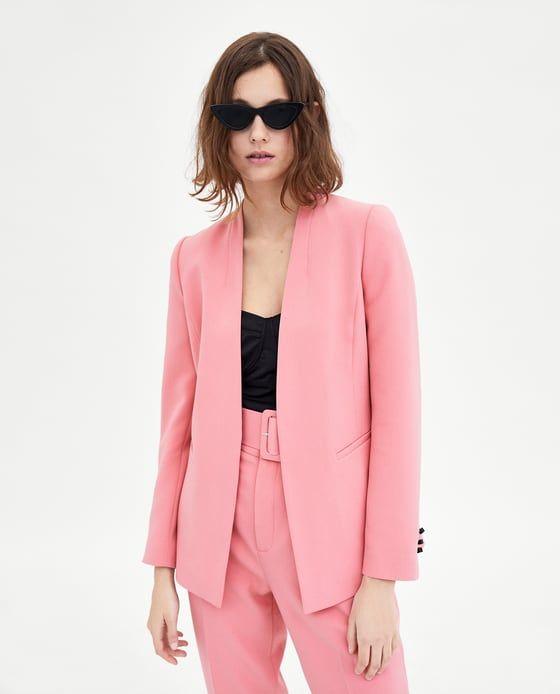 c46bfa4301be Image 5 of CREPE BLAZER from Zara | Zara | Blazer, Blazers for women,  Casual suit