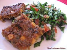 OH MY GOD. Vegetarian Kibbe! Lebanese cuisine is famous for offering a wide array of Kibbe dishes. For those who are not familiar with the term, Kibbe generally refers to ground meat mixed with burghul (cracked