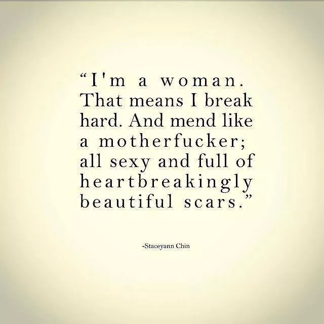 I am a woman. (Sorry for the word, no way I could resist this one.)