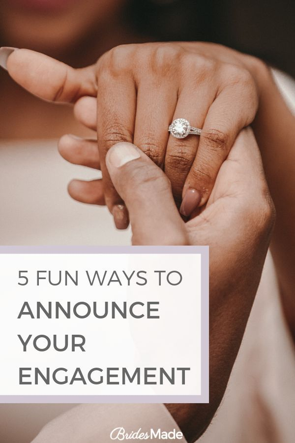 fun ways to announce your engagement on facebook engagement