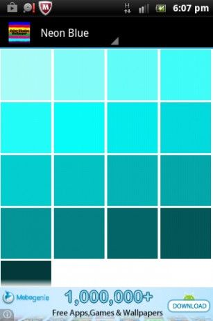 teal color shades - Google Search | Color shades, Plain ...