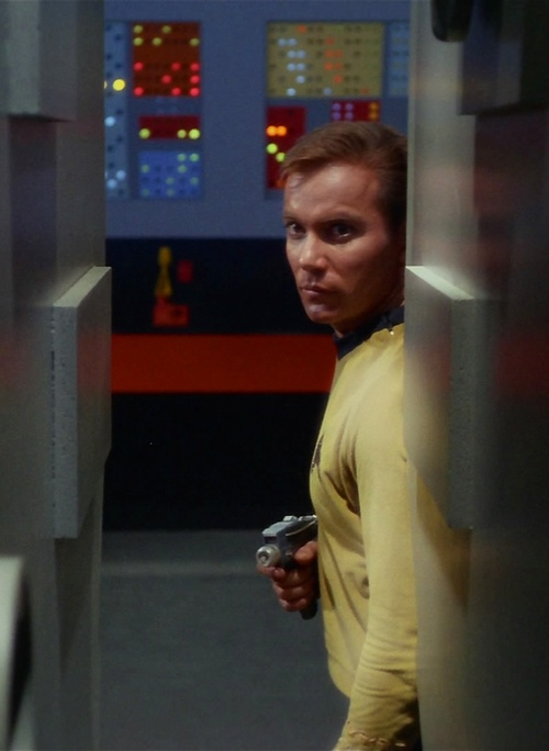 Captain Kirk (William Shatner) - Star Trek: The Original Series (1966-69)