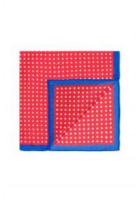 czerwony Poszetka LAMBERT 49.99zł