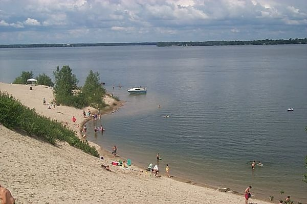The Sand Dunes at Sandbanks Provincial Park