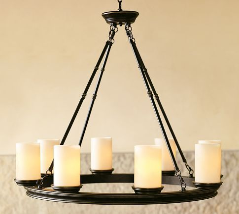 Love this Chandelier, wish it was about half the price :(  Keeping an eye out for a similar look!