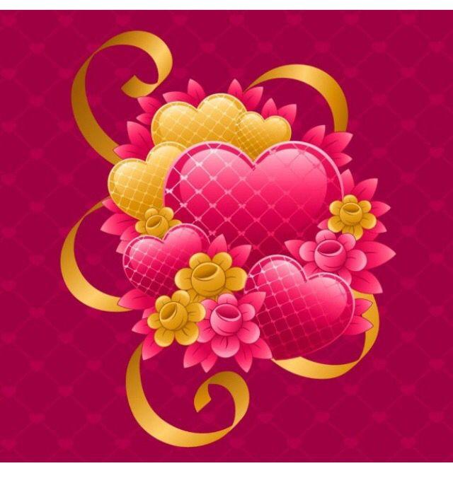 Pembe Sarı Kalp