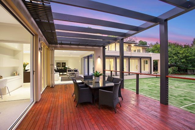Gorgeous #decking #home #outdoor #living design and build by Chateau Architects+Builders