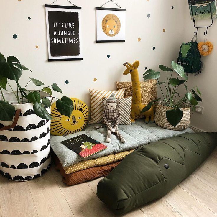 [Werbung] ⠀⠀⠀⠀⠀⠀⠀⠀⠀⠀ Welcome to the jungle! In unserer Kuschelecke ist es inzwischen ganz schön dschungelig geworden – drum fühl