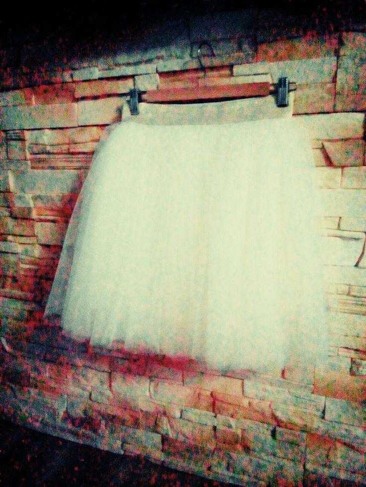 tylová sukně :)