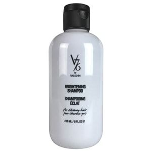V76 by Vaughn Brightening Shampoo For Silver Hair, 8 OZ