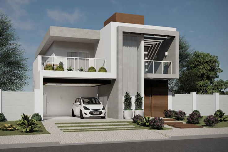 Plano de casa para condomínio fechado – Projetos de casas, modelos de casas …   – Casa