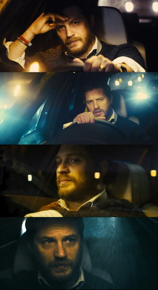 Tom Hardy in Locke He reminds me of my husband; that must be why I love him so much.
