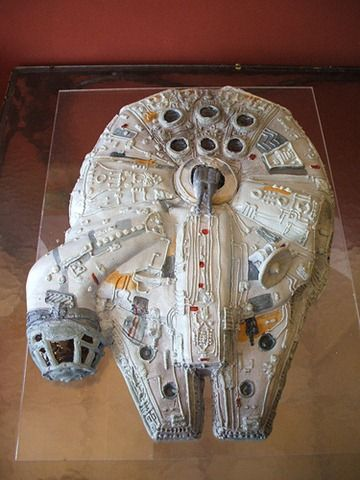 star wars cake. Wow