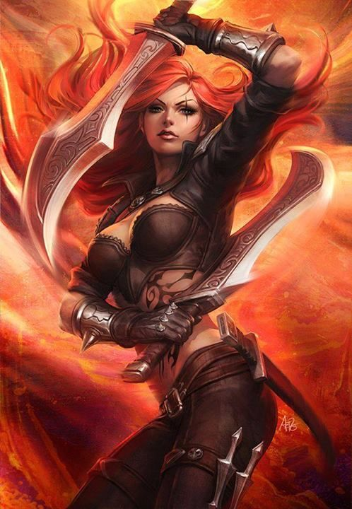 I've got to keep a rocking bod so I can dress up as Katarina from League of Legends another Halloween