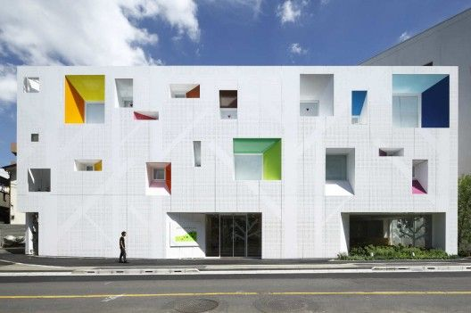 Emmanuelle Moureaux Architecture + Design: Sugamo Shinkin Bank, Tokiwadai Branch