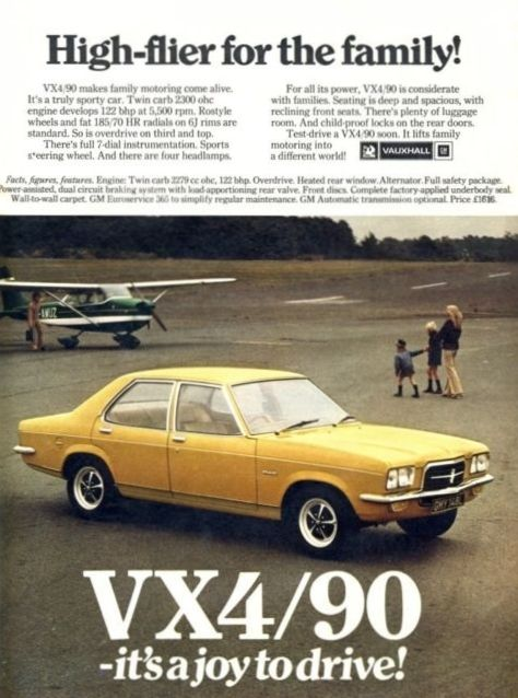 1973 Vauxhall Ventora VX4/90