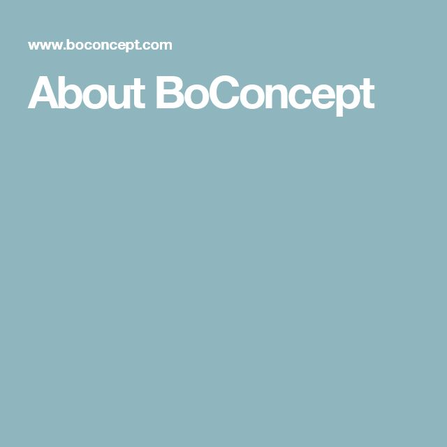 About BoConcept