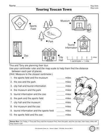 Touring Toucan Town, Lesson Plans - The Mailbox
