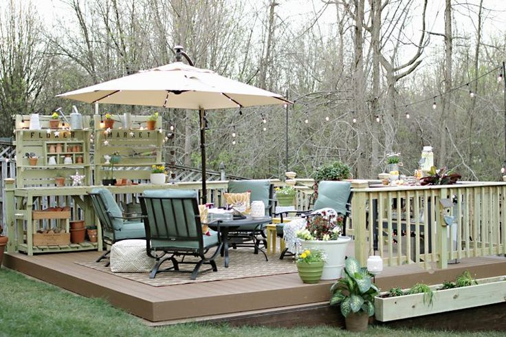 17 best ideas about sloped backyard on pinterest sloping for How much to build a floating deck