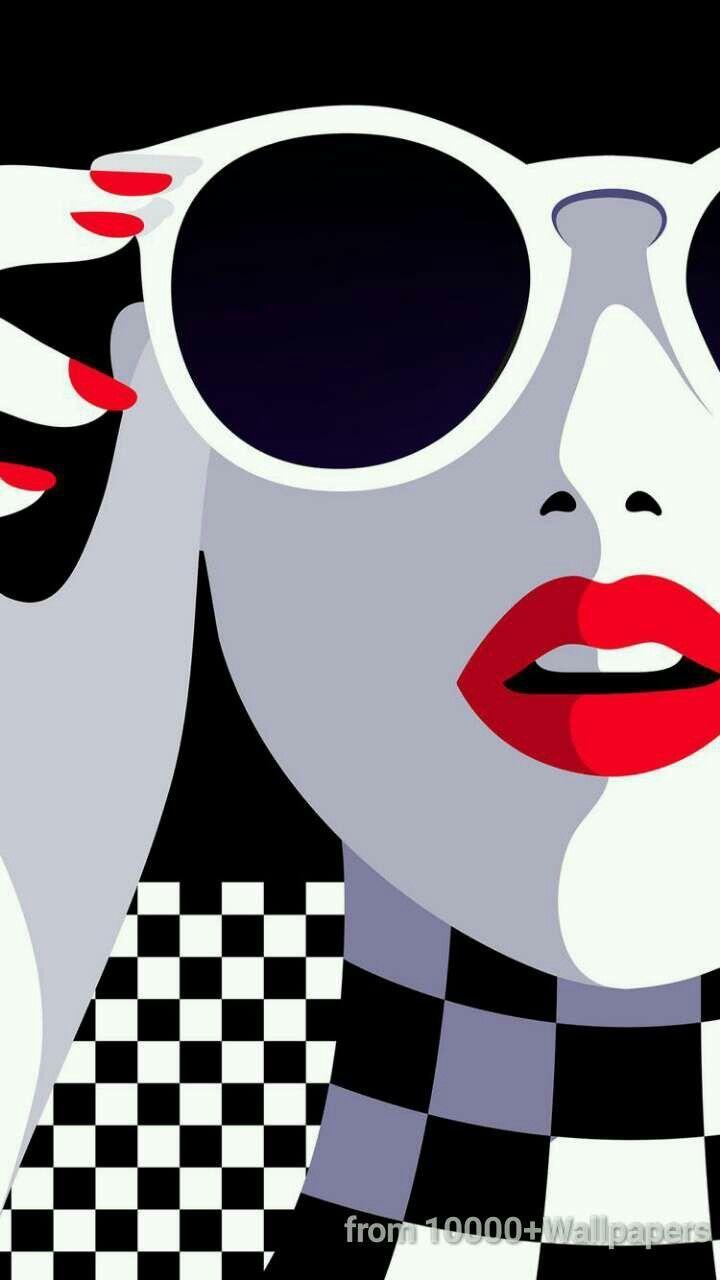 Malika Favre woman in sunglasses art. – #Art #Favr…