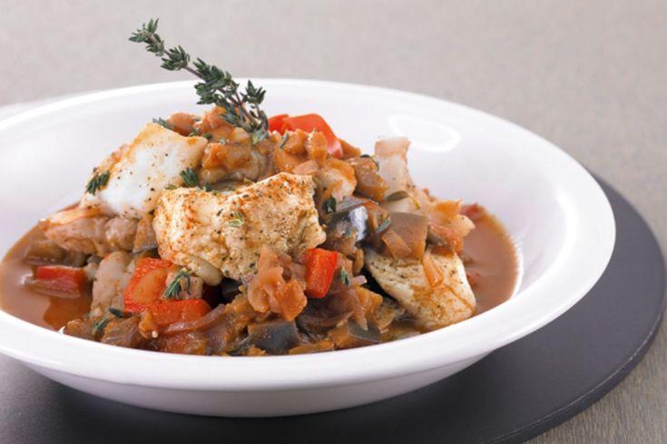 Fisch-Chili mit Peperoni und Auberginen - Annemarie Wildeisen's KOCHEN