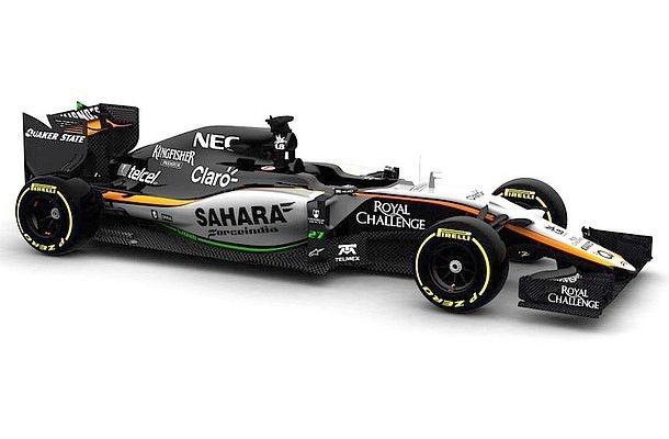 Force India #VJM08 konečně spatřila světlo světa.