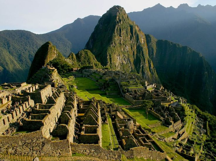 "The name Machu Picchu comes from the Quechua, ""Old Mountain"". It was built …"