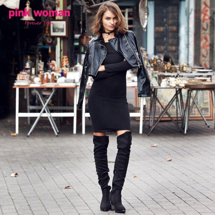 In black we trust.  #black #ootd #look #winterlook #winterfashion #fashion #style #stylish #fashionable #pinkwomanfashion