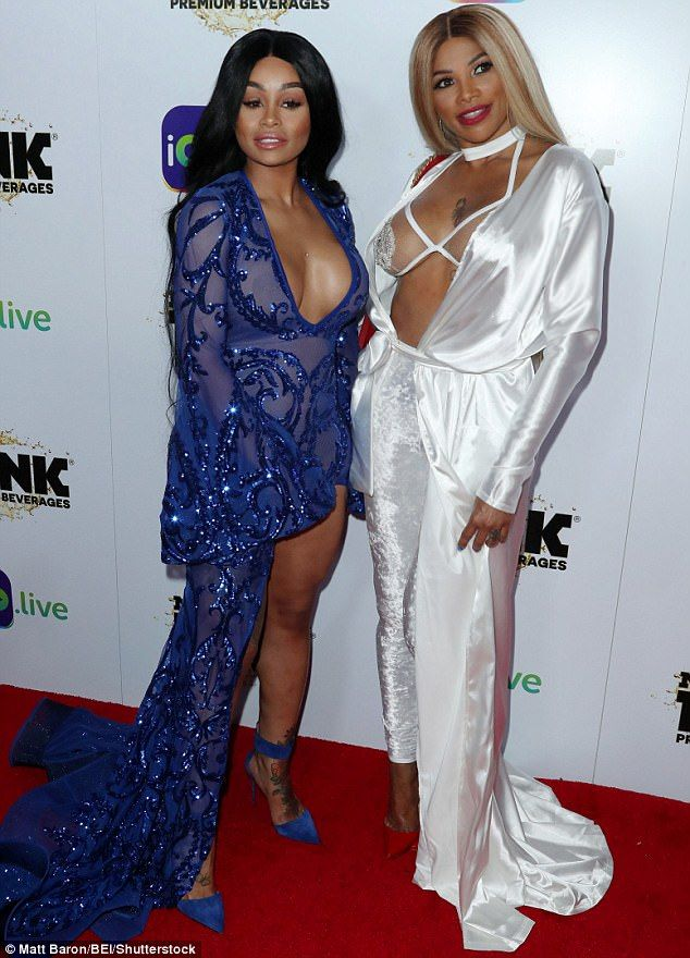 Move aside debutantes: Elegant Blac and Sandra Denton strove to bring the glamour in eye-watering ball gowns