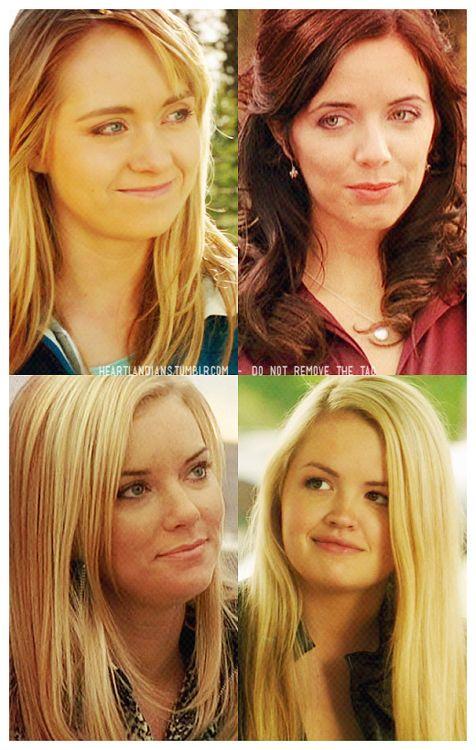 Amy, Lou, Ashley, Mallory
