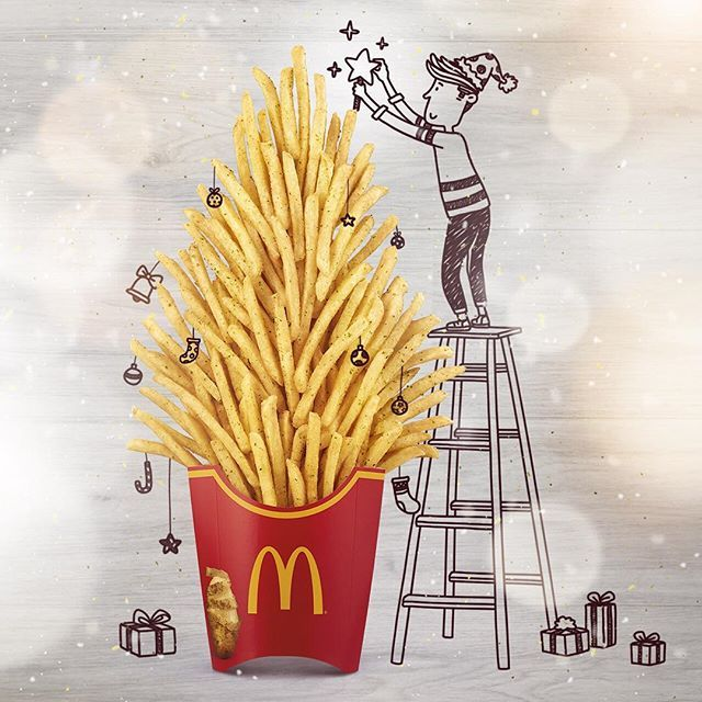 Add something special to your fries this season!  #shakerfries #truffle #shakeshake #mcdsg