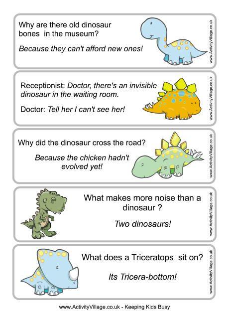 new year jokes for kids   ... jokes dinosaur printables dinosaur bookmarks jokes for kids joke