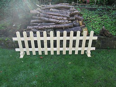 wooden Free standing Picket Fence panels 6ftx2ft planed timber smooth finish in Garden & Patio,Garden Fencing,Fence Pickets | eBay