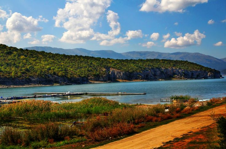 Colorful picture of the Great Prespa