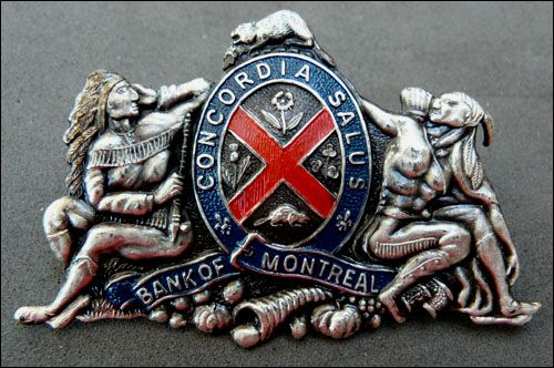 PIN'S MUSEUM : Bank of Montreal