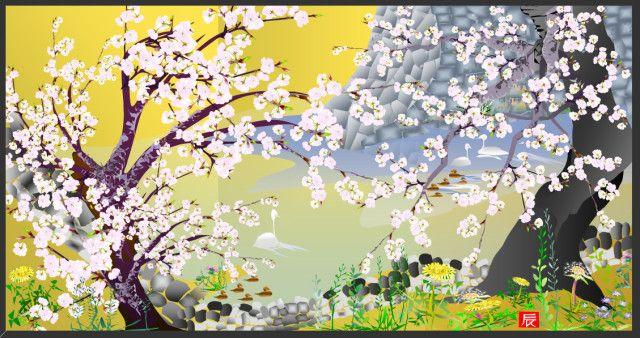 Ohromujúce japonské obrazy, ktoré vznikli v MS Excel