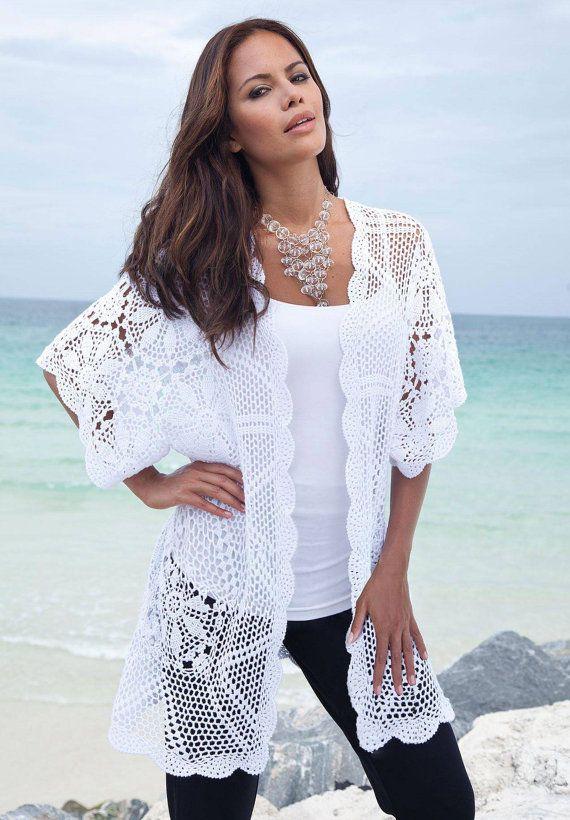 Lace tank top , blouse, vest  , crochet handmade , custom made